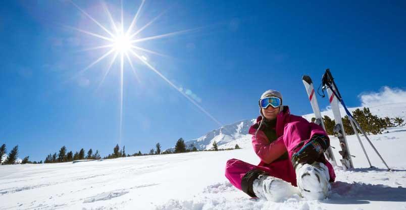 Hvorfor skal jeg bruge solcreme om vinteren eller når jeg står på ski?